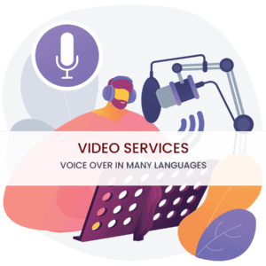 Voice Over in Many Languages